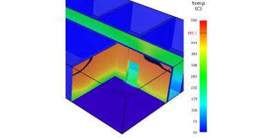 Влияние различных параметров на результаты расчета в PyroSim