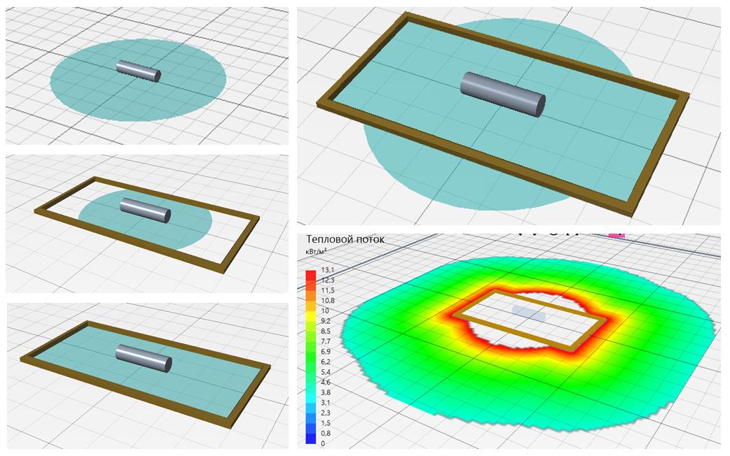 Моделирование проливов горючих жидкостей