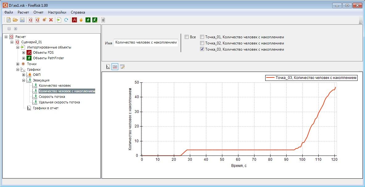 Обработка данных из программы Pathfinder